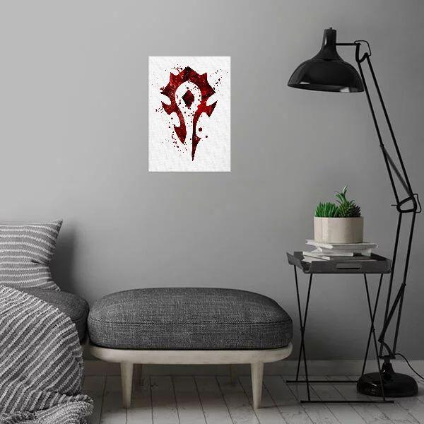 Метален постер Displate - The Horde - 3