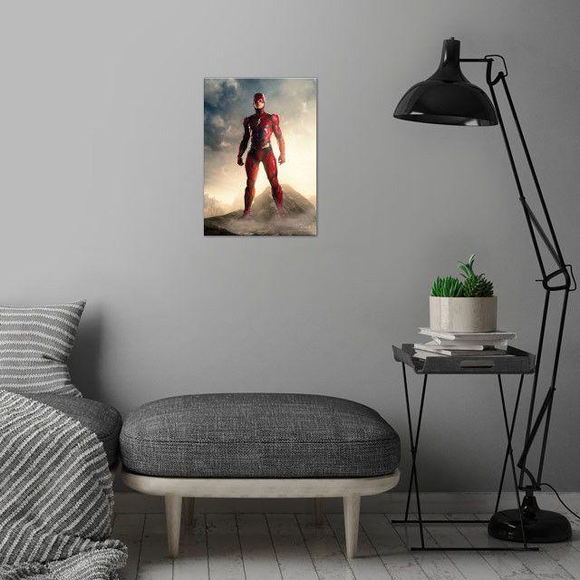 Метален постер Displate - DC Comics: The Flash - 4