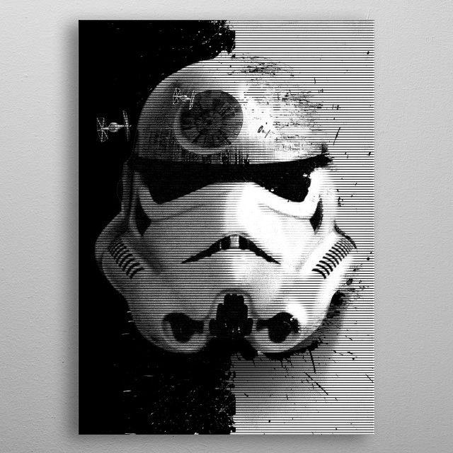 Метален постер Displate - Star Wars: Startrooper - 3