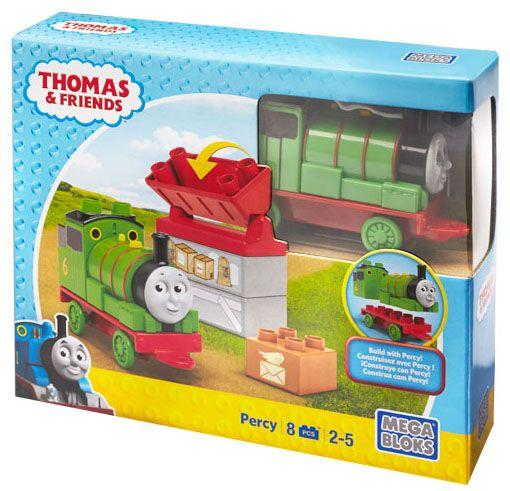 Моят конструктор Mega Bloks – Thomas & Friends – Да строим с Пърси - 2