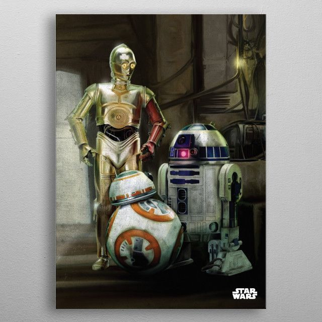 Метален постер Displate - Star Wars: Droids - 3
