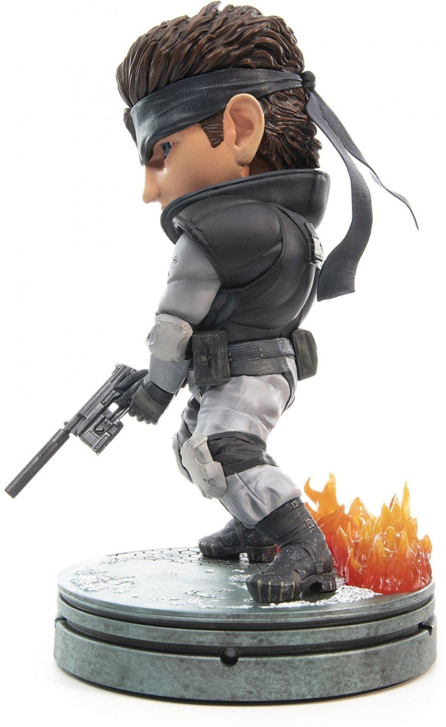 Статуетка First 4 Figures Metal Gear Solid - Solid Snake SD, 20cm - 4