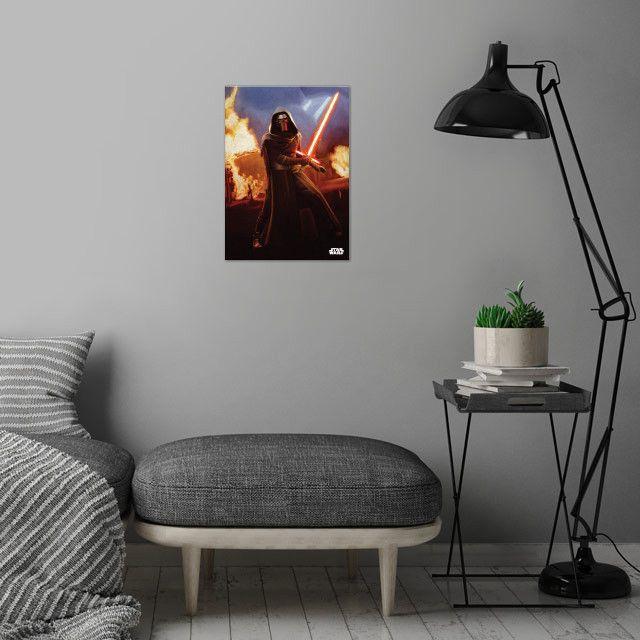 Метален постер Displate - Star Wars: Leader of the Knights - 4