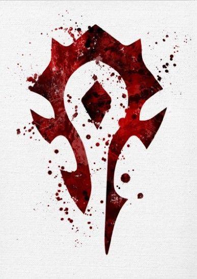 Метален постер Displate - The Horde - 1