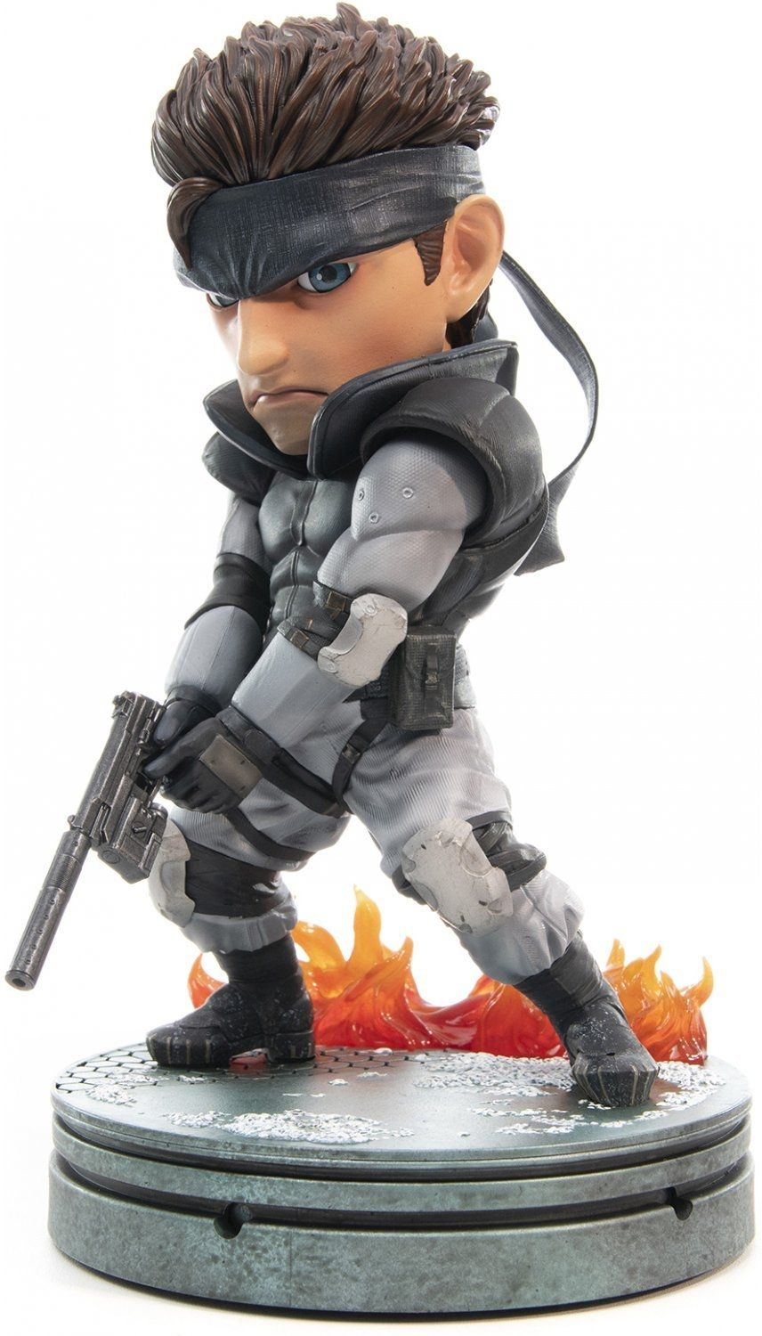 Статуетка First 4 Figures Metal Gear Solid - Solid Snake SD, 20cm - 5