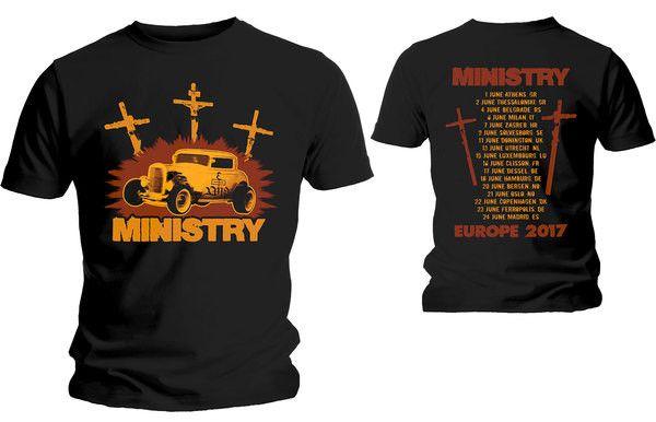 Тениска Rock Off Ministry - Hot Rod - 1