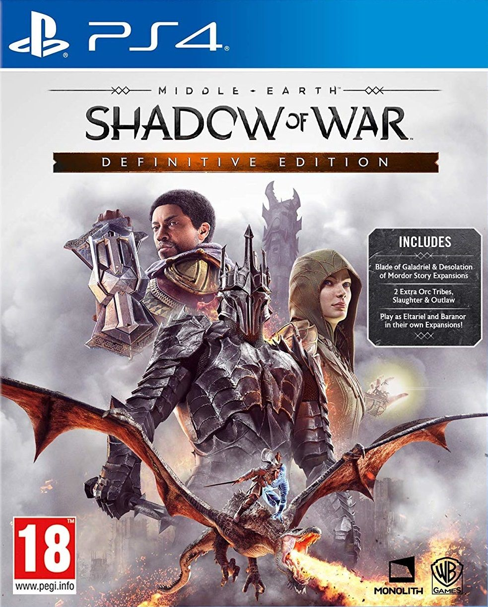 Middle-earth: Shadow of War - Definitive Edition (PS4) - 1