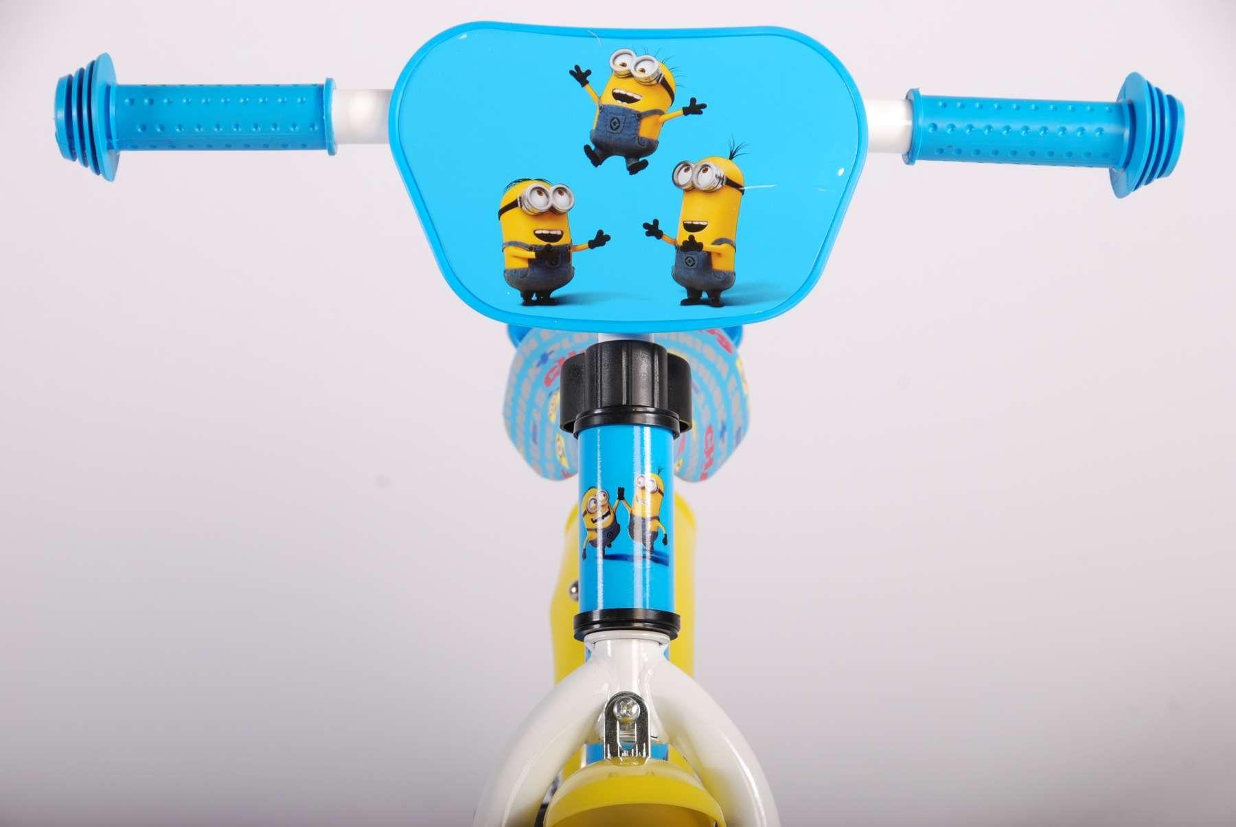 Метално колело за баланс E&L Cycles - Миньоните, 12 инча - 4