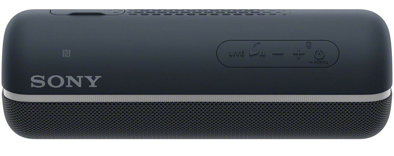 Мини колонка Sony SRS - XB22, черна - 4