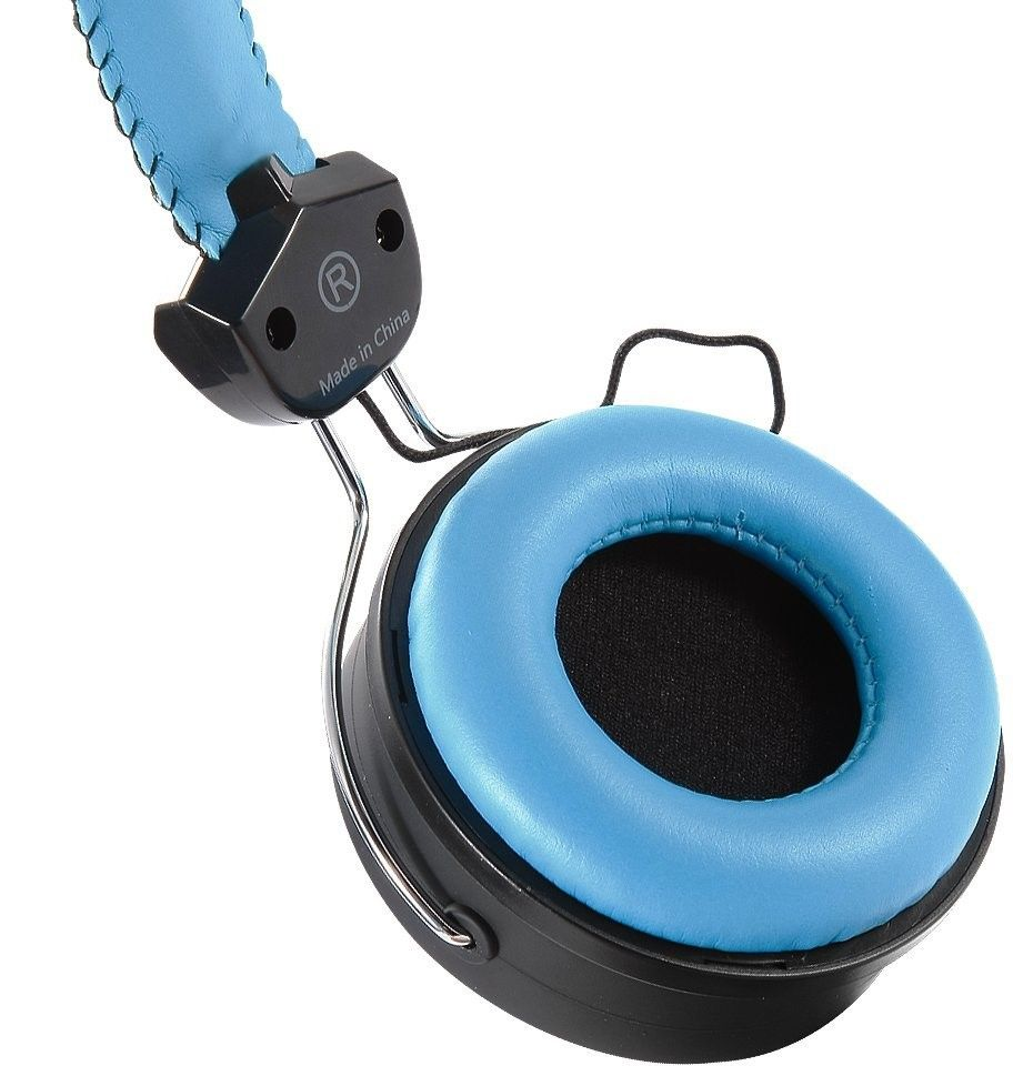 Слушалки Microlab K300 - черни/сини - 4