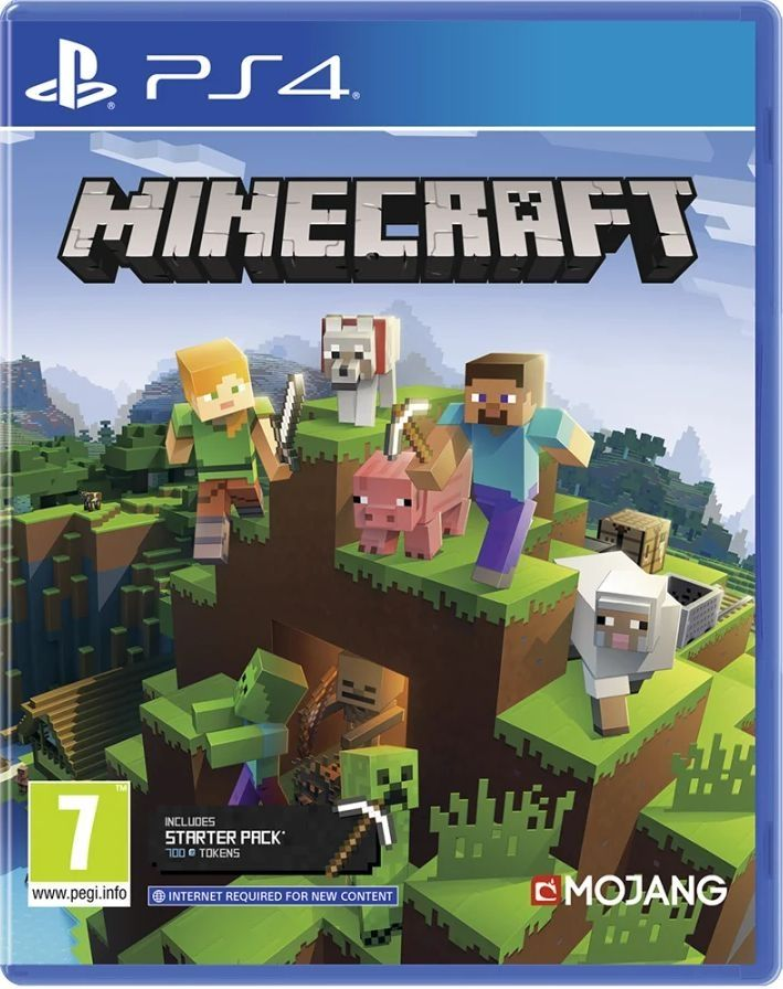 Minecraft: PlayStation 4 Edition (PS4) - 1