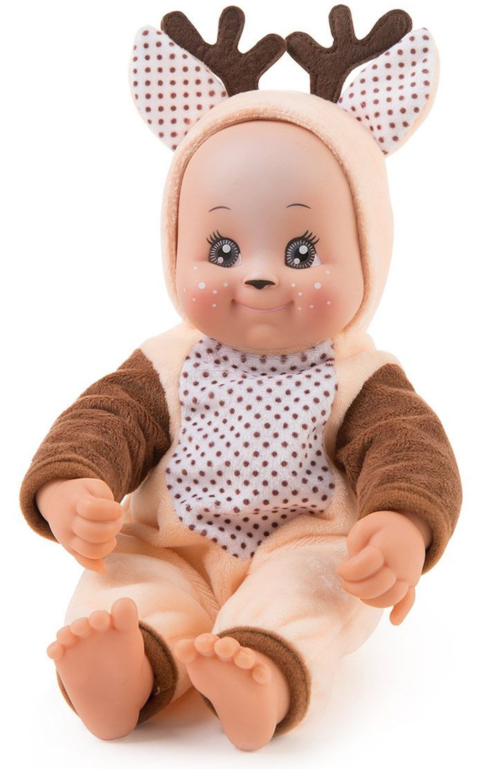 Кукла раздаваща целувки Smoby MiniKiss Animal - Еленче, 30 cm - 1