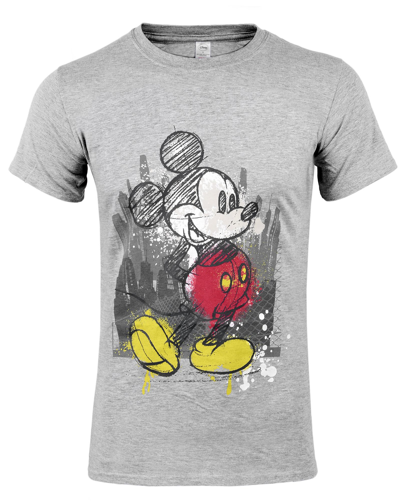 Тениска Micky Mouse - Tap, сива, размер M - 1