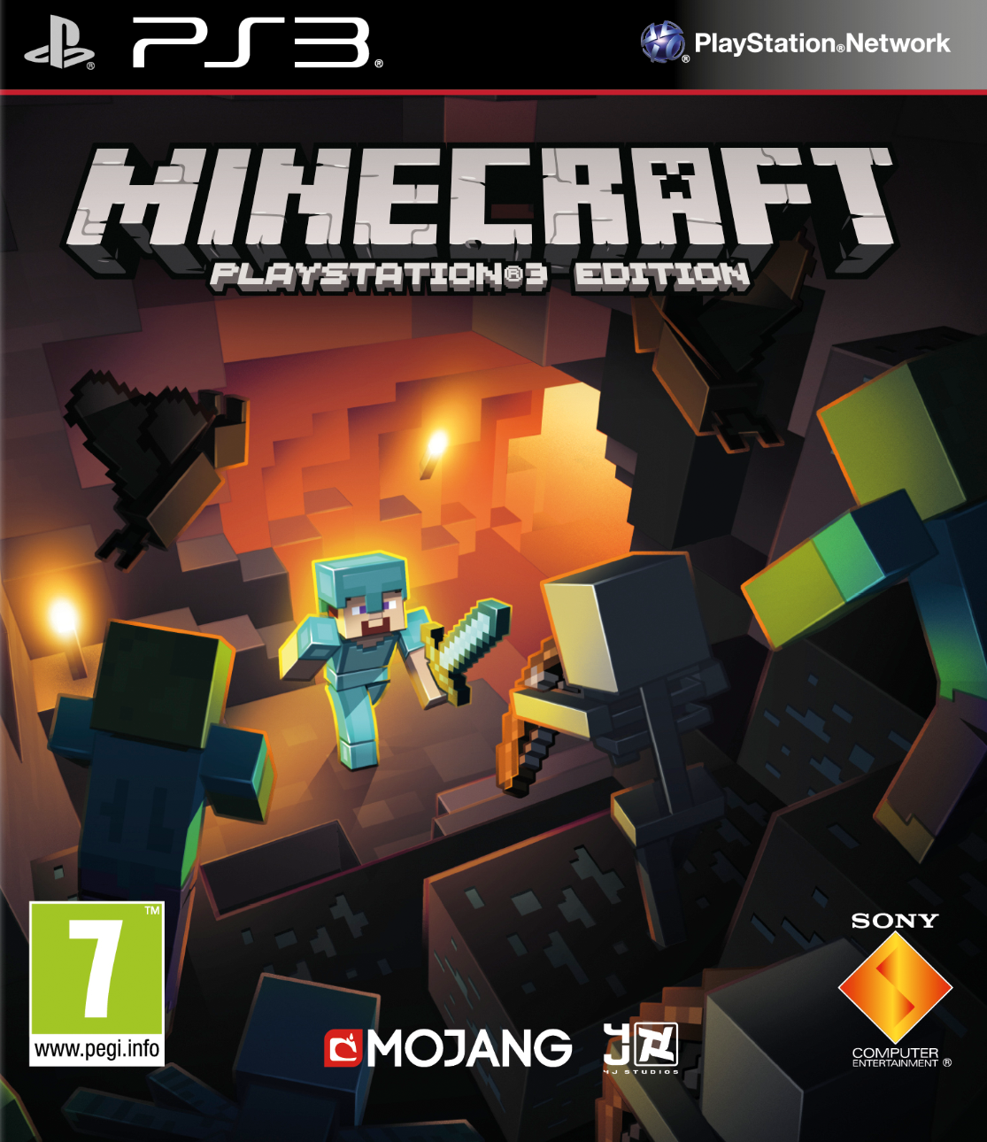 Minecraft - PlayStation 3 Edition (PS3) - 1