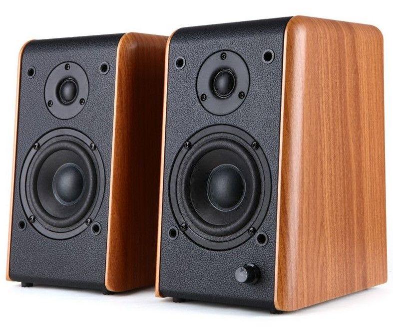 Аудио система Microlab B77 - 2.0, кафява - 1