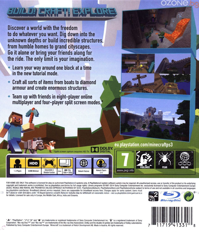 Minecraft - PlayStation 3 Edition (PS3) - 8