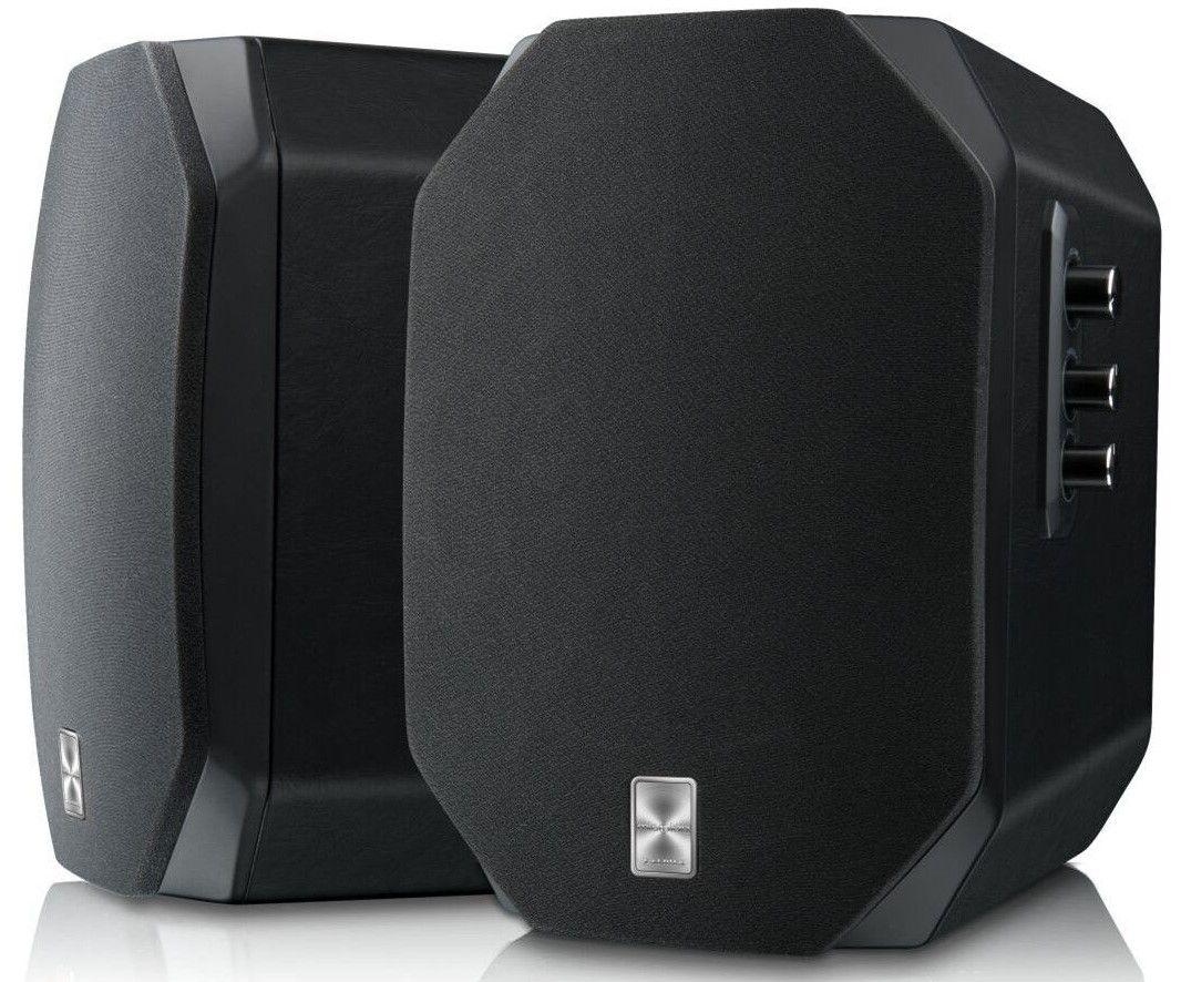 Аудио система Microlab X1 - 2.0, черна - 1