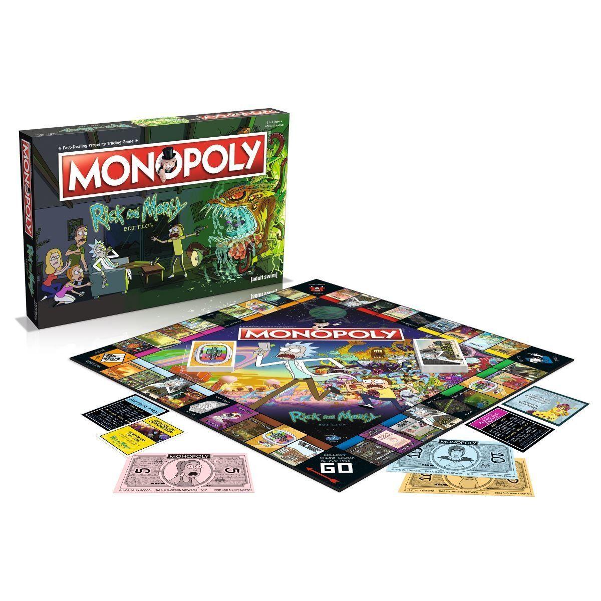 Настолна игра Monopoly -Rick and Morty Edition - 1