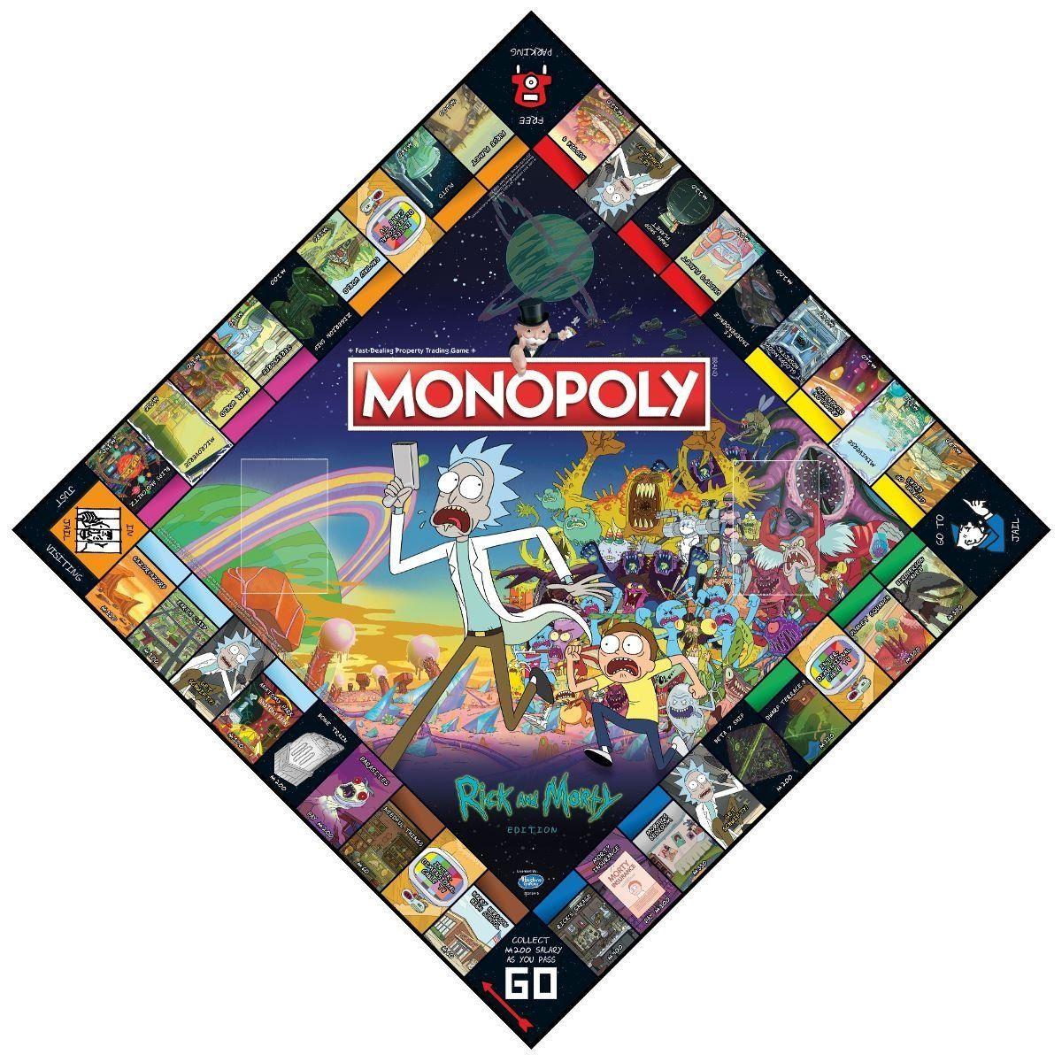 Настолна игра Monopoly -Rick and Morty Edition - 2