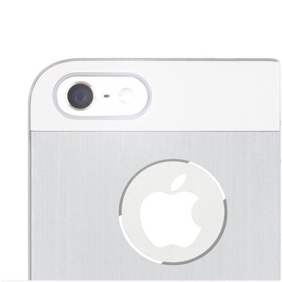 Moshi iGlaze Armour за iPhone 5 -  сребрист - 3