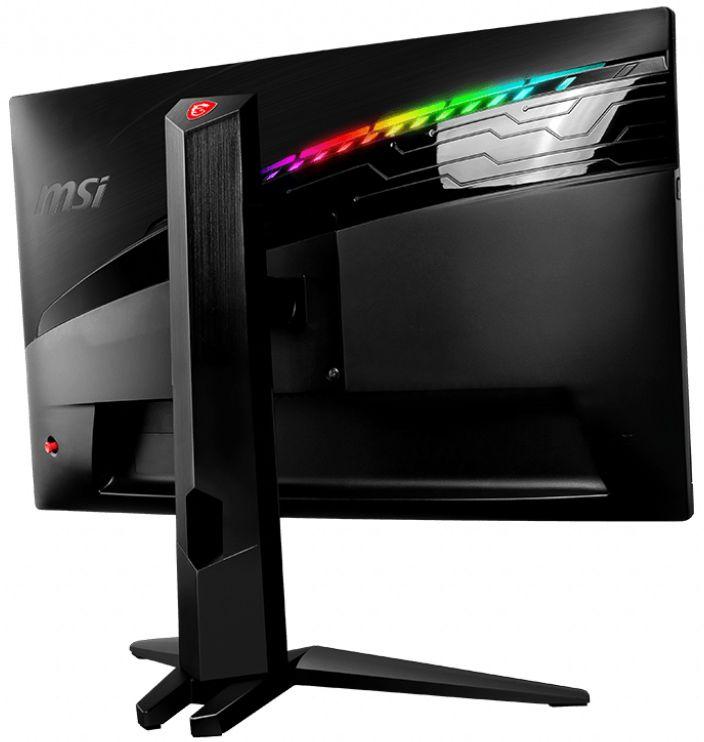 """Геймърски монитор MSI Optix MAG271CQR, 27"""",Curved,FreeSync,144 Hz,черен - 3"""