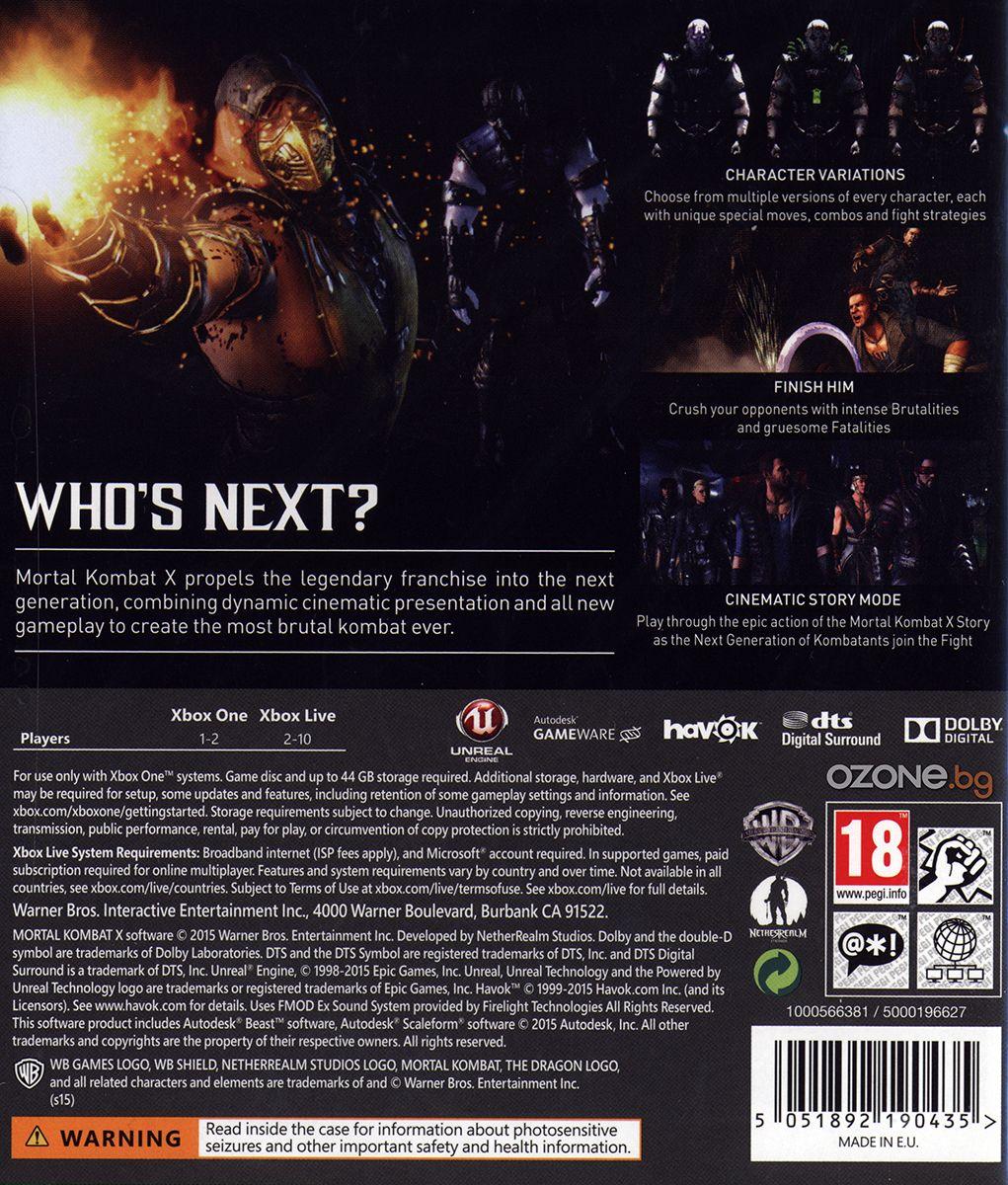 Mortal Kombat X (Xbox One) - 5
