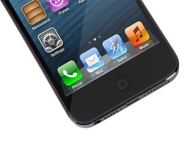 Moshi iVisor XT Clear за iPhone 5 -  черен - 2