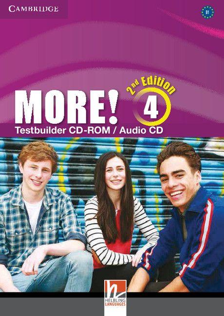More! Level 4 Testbuilder CD-ROM/Audio CD - 1