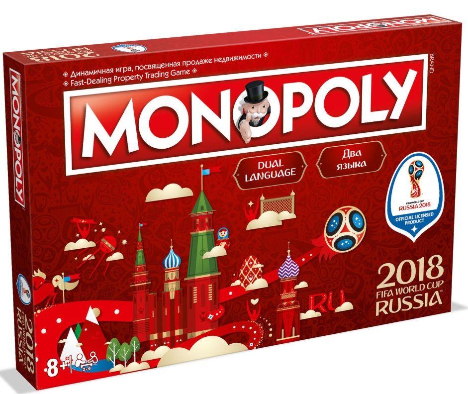 Настолна игра Monopoly - FIFA Wold Cup 2018 - 1