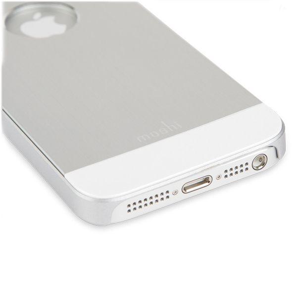 Moshi iGlaze Armour за iPhone 5 -  сребрист - 2