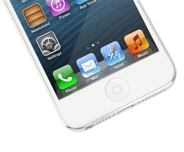 Moshi iVisor AG за iPhone 5 -  бял - 2