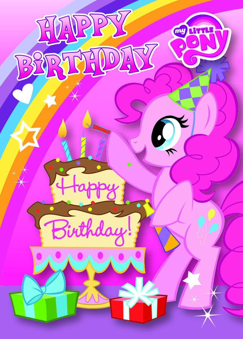 Поздравителна картичка Danilo - My Little Pony: Happy Birthday - 1