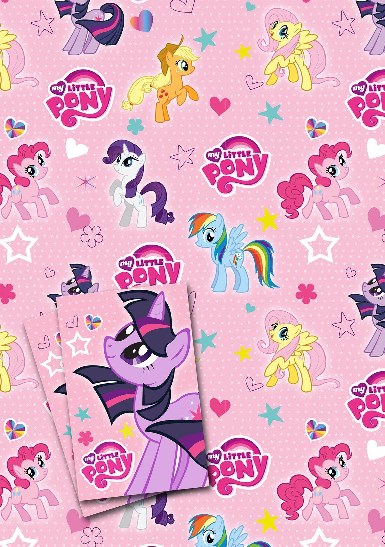Хартия и етикети за подарък Danilo - My Little Pony - 1