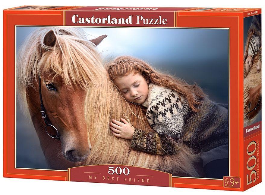 Пъзел Castorland от 500 части - Най-добрият ми приятел - 1