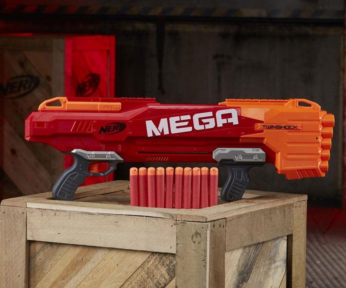 Бластер Hasbro Nerf - N-Strike Mega TwinShock - 2