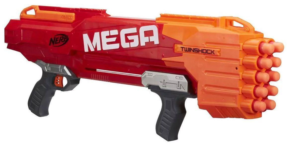 Бластер Hasbro Nerf - N-Strike Mega TwinShock - 5