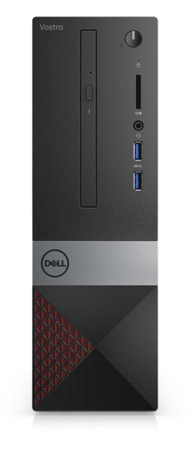 Настолен компютър Dell Vostro - 3471 SFF, черен - 4