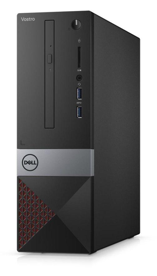Настолен компютър Dell Vostro - 3471 SFF, черен - 2