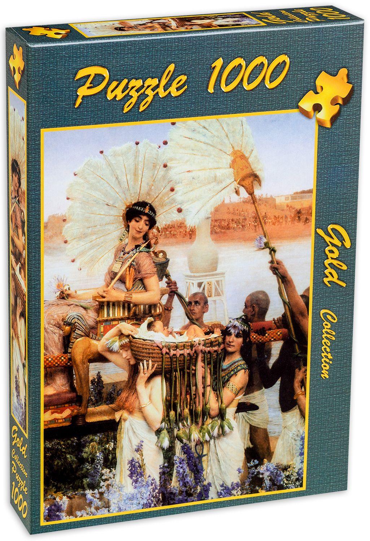Пъзел Gold Puzzle от 1000 части - Намирането на Мойсей - 2