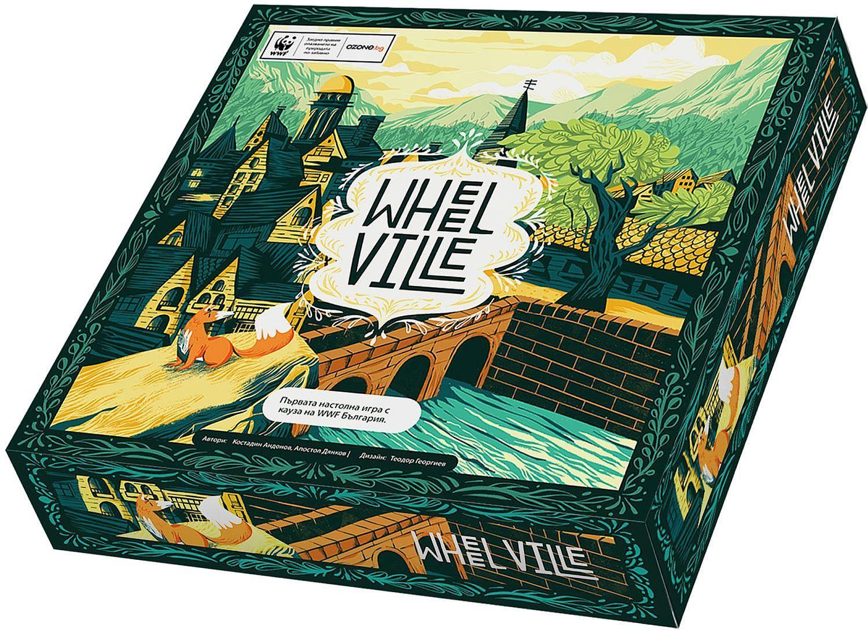 Настолна игра WWF - WheelVille - 1
