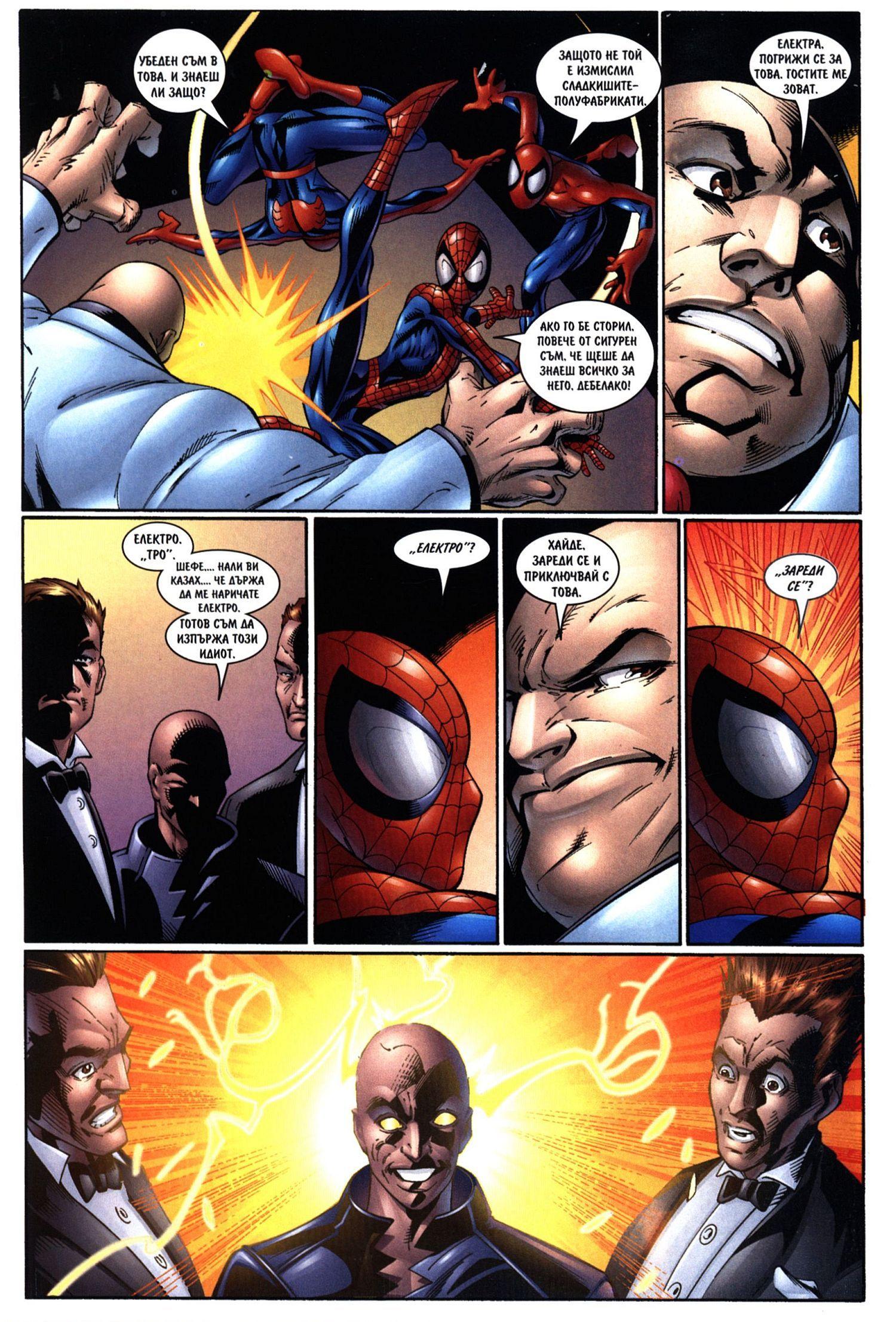 Най-новото от Спайдърмен (Брой 11 / Април 2007):  Големият мъж - 4
