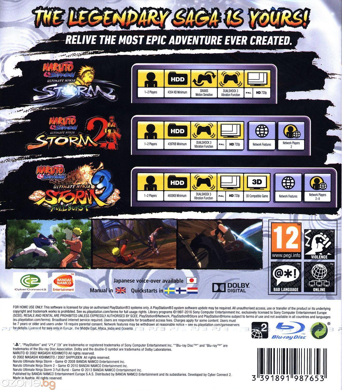 Naruto Shippuden Ultimate Ninja Storm Collection (PS3) - 13