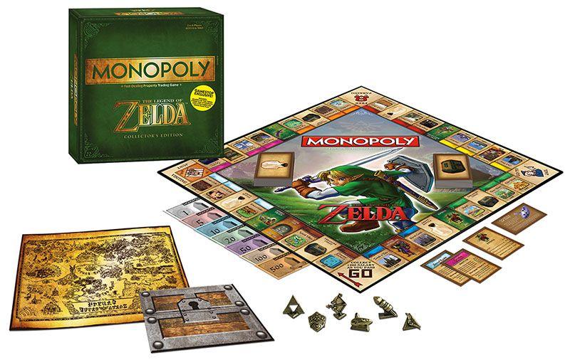 Настолна игра Monopoly - The Legend of Zelda - 1