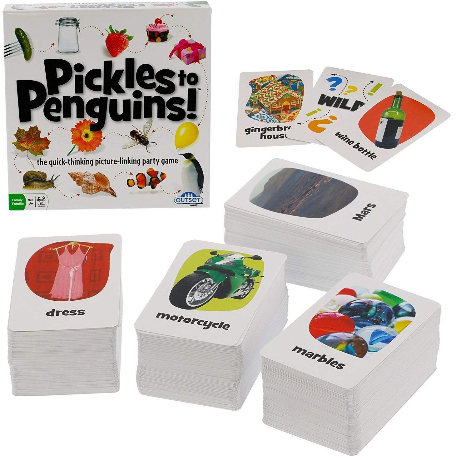 Настолна игра Outset Media - От краставички до пингвини - 2