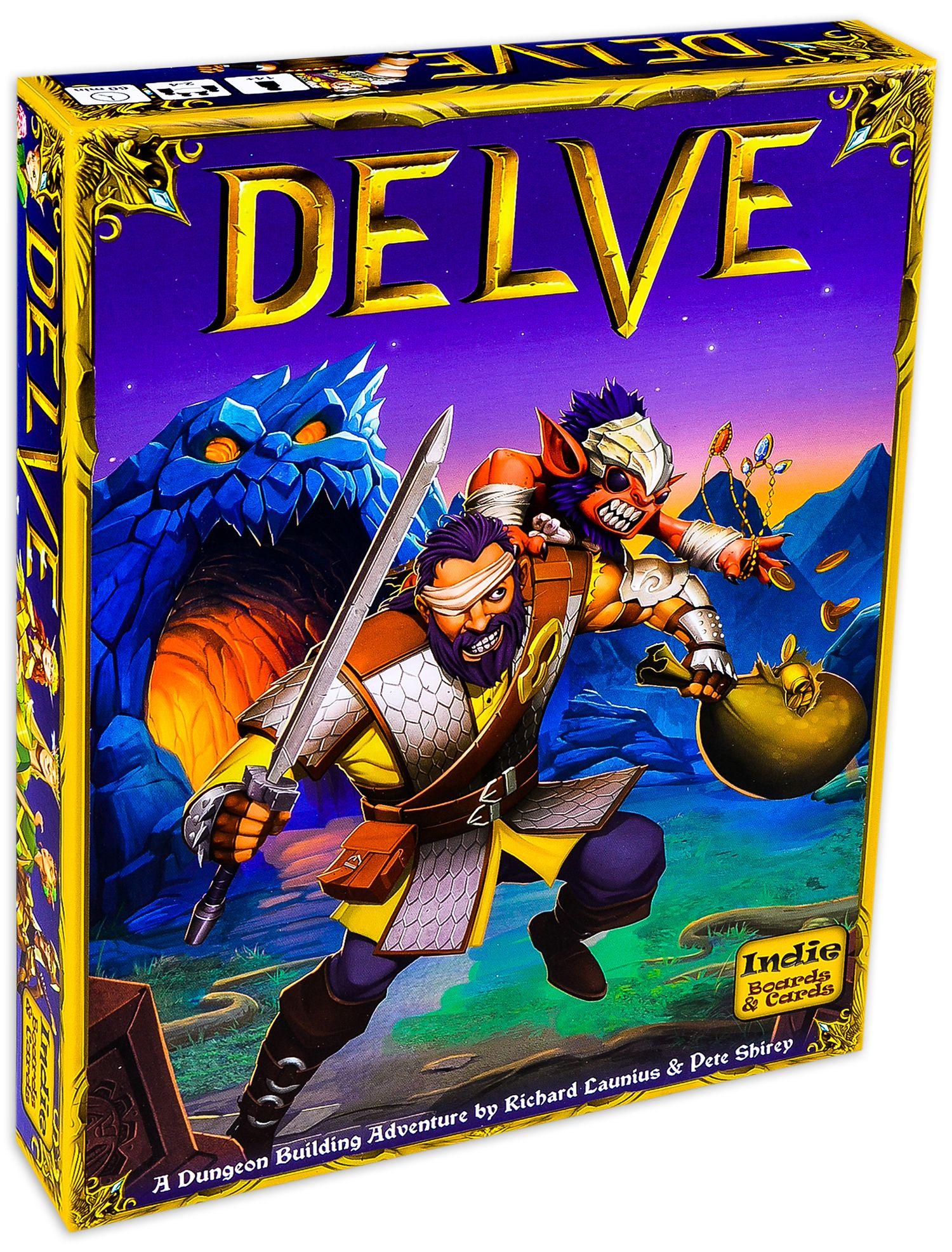 Настолна игра Delve - 1