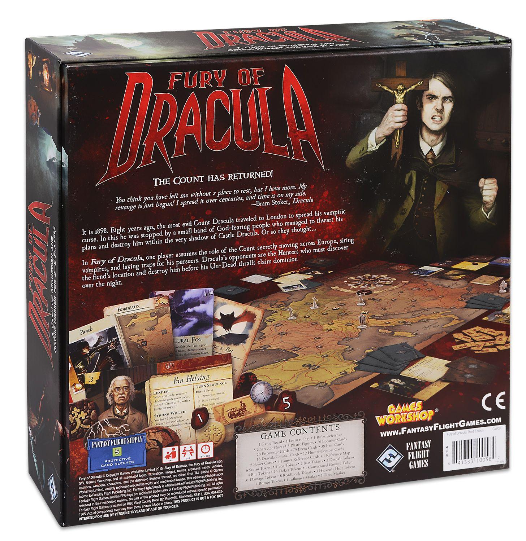 Настолна игра Fury of Dracula (3rd Edition) - 3