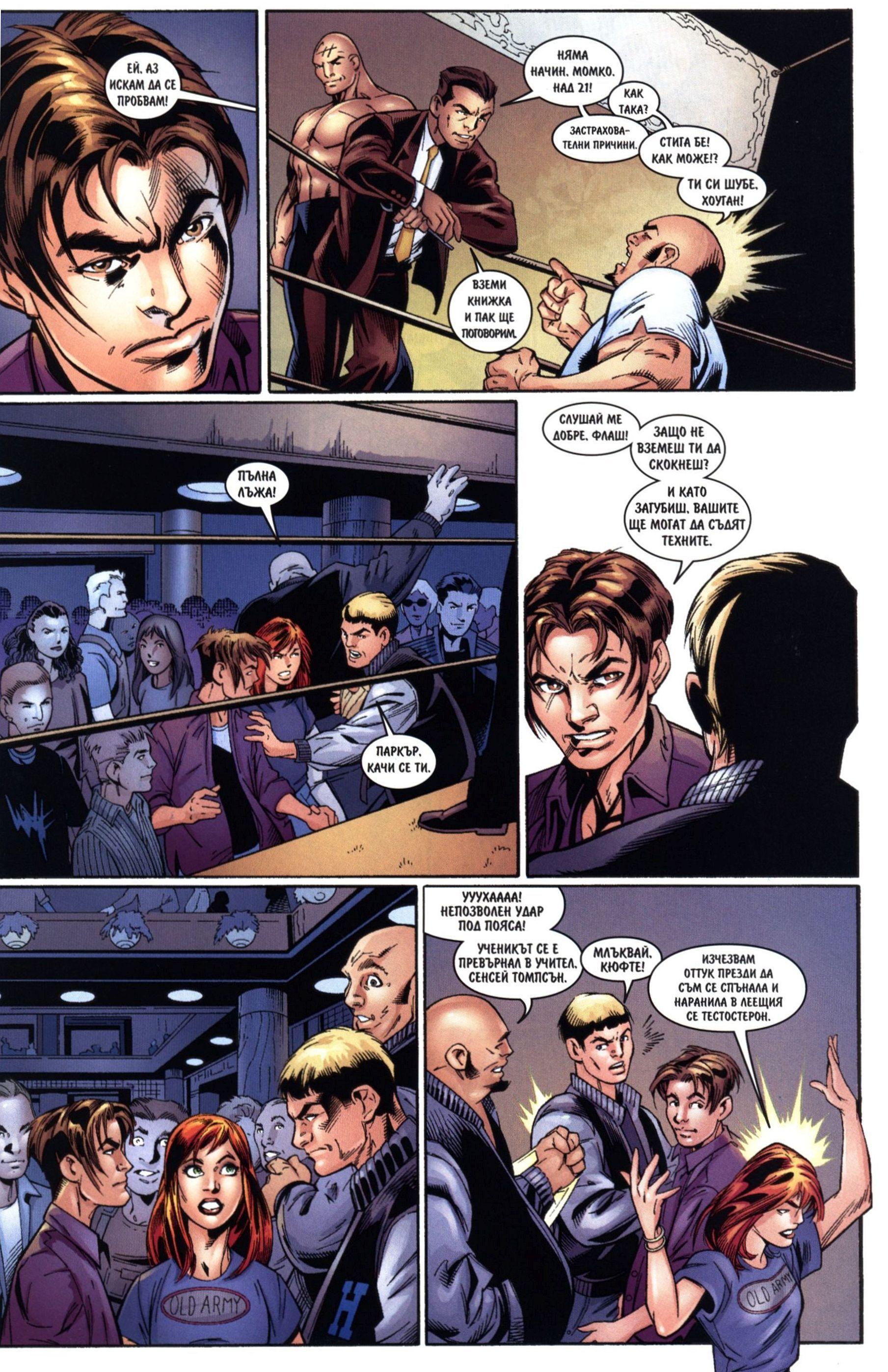 Най-новото от Спайдърмен (Брой 4 / Септември 2006):  Превъплъщения - 6