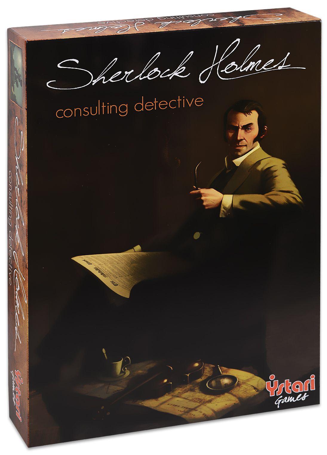 Настолна игра Sherlock Holmes Consulting Detective - 1