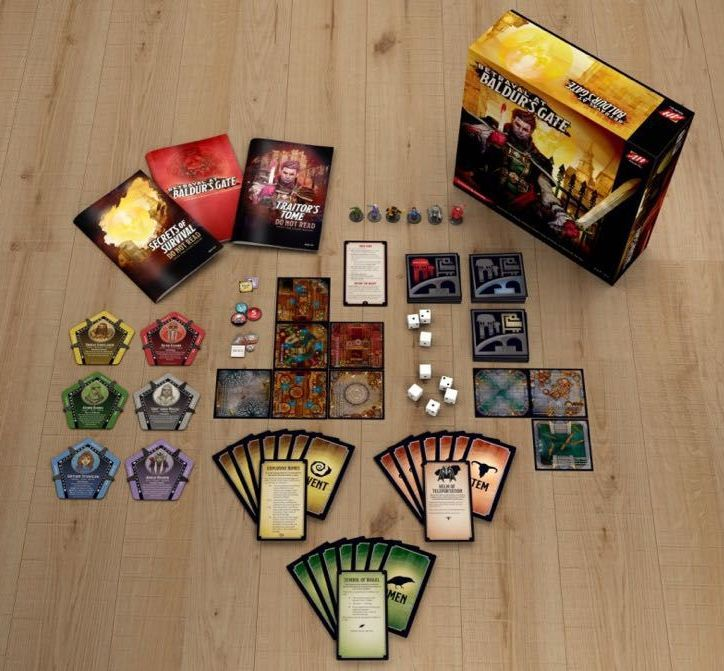 Настолна игра Betrayal at Baldur's Gate - 2