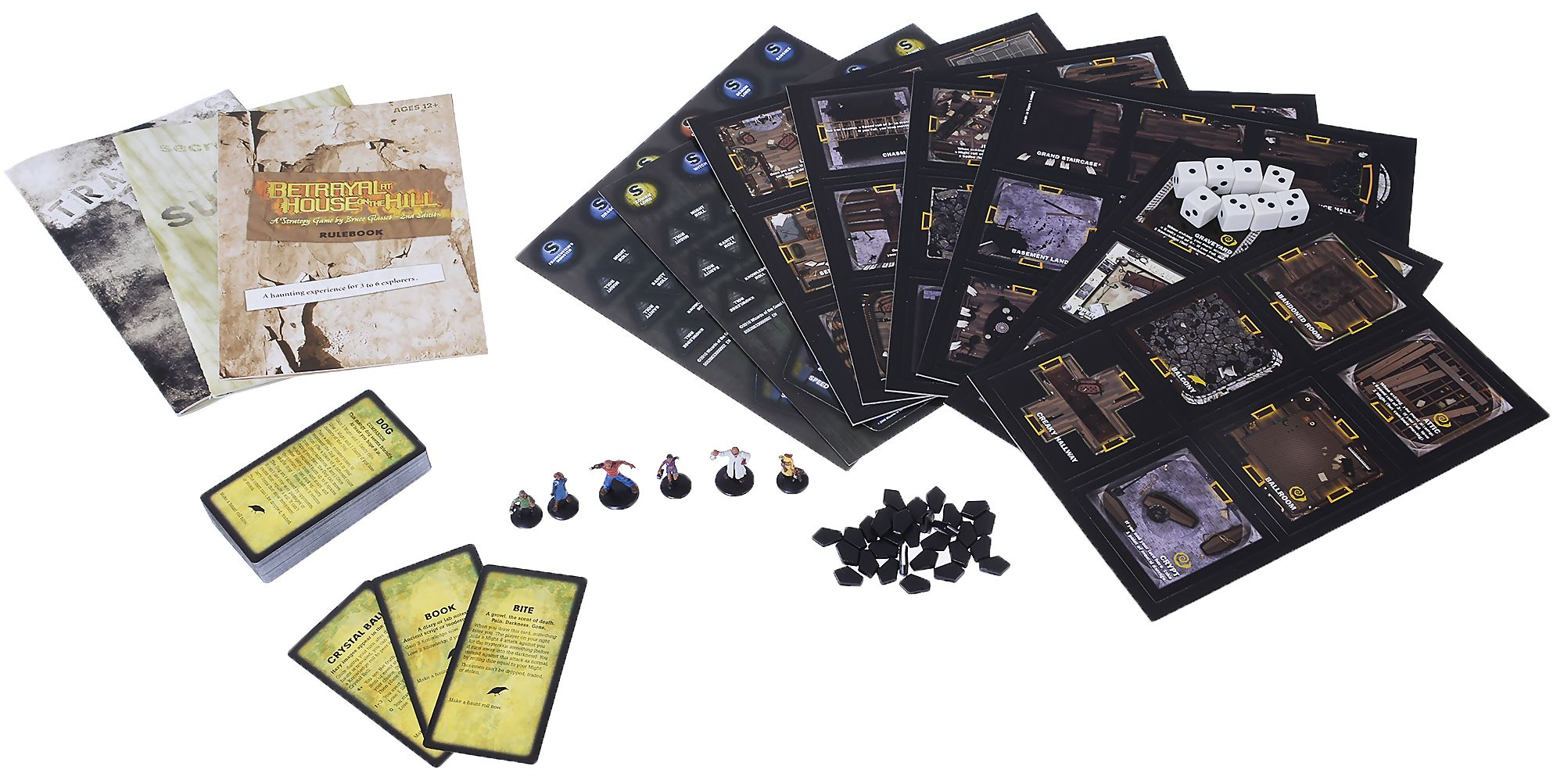 Настолна игра Betrayal at House on the Hill (2nd Edition) - 6